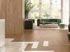 Pavimento/rivestimento in gres porcellanato effetto legnoALLURE OLMO AMBRÉ - ITALGRANITI