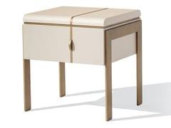 Comodino quadrato in legno con cassettiALTHEA N | Comodino - BELLANI