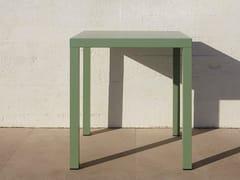 Tavolo da giardino quadrato in alluminioALU - ADICO