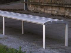 URBIDERMIS, NEOROMÁNTICO LIVIANO | Panchina in alluminio  Panchina in alluminio