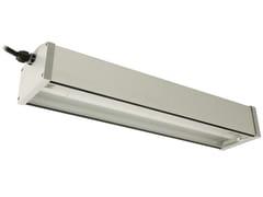 Plafoniera per esterno a LED in alluminio anodizzatoALUX - LINEA LIGHT GROUP
