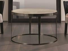 Tavolino rotondo in marmo AMADEUS | Tavolino in marmo - Loveluxe