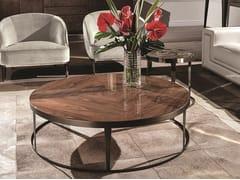 Tavolino rotondo in legno AMADEUS | Tavolino in legno - Loveluxe