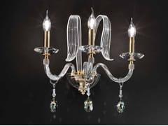 Applique in cristallo con cristalli Swarovski®AMELIE A3 - EUROLUCE LAMPADARI