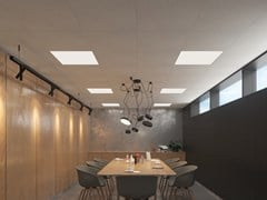 Pannelli per controsoffittoAMF ECOMIN Planet - KNAUF CEILINGS SOLUTIONS