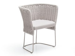 Sedia a slitta da giardino in poliestereAMI | Sedia a slitta - PAOLA LENTI