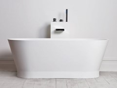 RILUXA, AMIENS Vasca da bagno ovale in Solid Surface