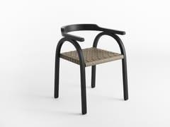 Sedia con braccioli AMILCARE | Sedia - Amilcare