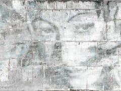 Carta da parati effetto muro impermeabile in tessuto non tessutoAMMALIAMI - TECNOGRAFICA