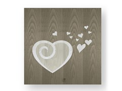 Quadro in legno intarsiato AMOUR COLD - DOLCEVITA LOVE