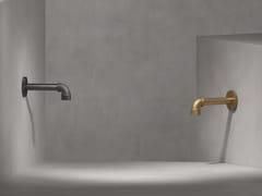 Rubinetto per lavabo a muro monoforoELAN VITAL | Rubinetto per lavabo a muro - THE WATERMARK COLLECTION