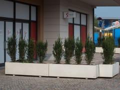 Fioriera per spazi pubblici rettangolare in calcestruzzoANDROMEDA | Fioriera per spazi pubblici rettangolare - CALZOLARI