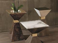 Tavolino / portavaso in legno ANDY | Tavolino con vaso - Loveluxe - Essence