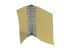 Profilo angolare in alluminio con rete ANGOLARE IN ALLUMINIO CON RETE - IDA THERM