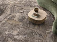 Pavimento/rivestimento in gres porcellanato effetto marmoANIMA FUTURA KEEN GREY - CERAMICHE CAESAR