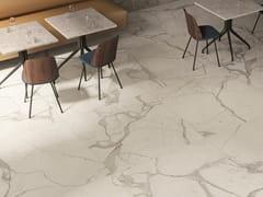 Pavimento/rivestimento in gres porcellanato effetto marmoANIMA FUTURA MAJESTIC WHITE - CERAMICHE CAESAR