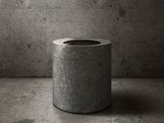 Lavabo freestanding rotondo in pietra naturaleANIMA LIQUIDA - ANTONIO LUPI DESIGN®