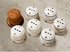 Presa elettrica singola in ceramicaANTARES | Presa elettrica - ALDO BERNARDI