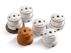 Presa elettrica singola in ceramicaANTARES | Presa coassiale TV - ALDO BERNARDI
