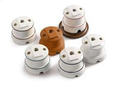 Presa elettrica singola in ceramicaANTARES | Presa telefono - ALDO BERNARDI