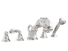 Set vasca a 5 fori con cristalli Swarovski® ANTARTICA | Set vasca con cristalli Swarovski® - Antartica