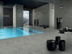 LEA CERAMICHE, ANTHOLOGY - GRAY Pavimento/rivestimento in gres porcellanato effetto pietra per interni ed esterni