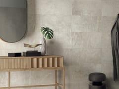 Pavimento/rivestimento in gres porcellanato effetto pietra per interni ed esterniANTHOLOGY - WHITE - LEA CERAMICHE