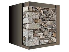 Rivestimento di facciata in pietra artificialeANTICO CANTONALE 43 - GEOPIETRA®