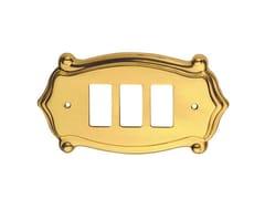 Placca di finitura in ottoneANUBI CLASSIQUE   Placca di finitura - PASINI METALS PRODUCTIONS