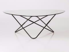 Tavolino basso in vetroAO - AIRBORNE