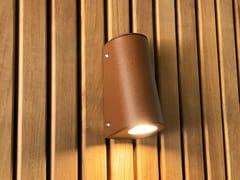 LAMPADA DA PARETE PER ESTERNO A LED IN ACCIAIOAP 05 - ARALIA - LYX-LUMINAIRES