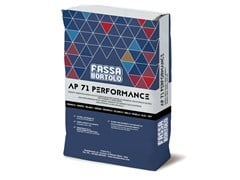 FASSA, AP 71 PERFORMANCE Adesivo a base cementizia per interni ed esterni