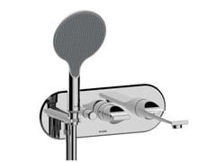 Miscelatore per vasca a muro in ABS con doccettaAPICE | Miscelatore per vasca - BOSSINI