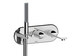 Miscelatore per vasca a muro con doccettaAPICE | Miscelatore per vasca a muro - BOSSINI