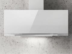 Cappa in acciaio e vetro a parete con illuminazione integrataAPLOMB - ELICA