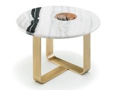 Tavolino alto rotondo in marmoAPOLLO 7010B - ARCAHORN