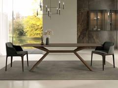 Tavolo da pranzo rettangolare in legnoAPOLLO - OLIVIERI