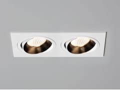 Faretto a LED orientabile in acciaio da incassoAPRILIA TWIN - ASTRO LIGHTING