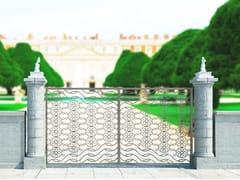 Cancello a doppio battente in ferroARABESQUE 2656 - FABBRIDEA