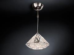 Lampada a sospensione a LED in acciaio con cristalli ARABESQUE DIAMOND | Lampada a sospensione a LED - Arabesque