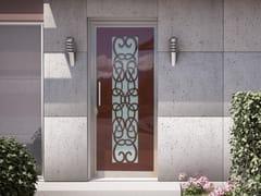 Porta d'ingresso in acciaio per esternoARABESQUE - FABBRIDEA