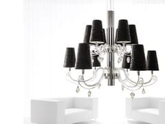 Lampadario in cristallo con cristalli Swarovski® ARABIAN PEARLS H12+1 | Lampadario con cristalli Swarovski® - Arabian Pearls