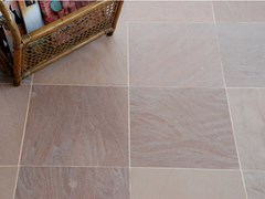 Pavimento/rivestimento in pietra naturale per interniARAVALI PINK HONED SANDSTONE - STONE AGE PVT. LTD.