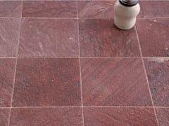 Pavimento/rivestimento in pietra naturale per interniARAVALI RED TEXTURED SANDSTONE - STONE AGE PVT. LTD.