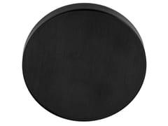 Formani, ARC - PBAB53 IZ Rosetta rotonda in PVD nero satinato
