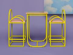 Tavolo alto quadratoARCO | Tavolo alto - HOUTIQUE