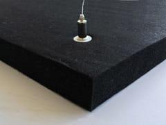 Pannello acustico a sospensione in fibra di poliestereARCO RT30 - ARCOBALENO 2