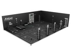 Spazio interattivo a due pareti per training per 11 utentiAREAX INTERACTIVE 11 - 2 WALLS - REAXING