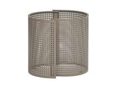 Vaso da giardino basso in acciaio zincatoARENA | Vaso da giardino - ISIMAR
