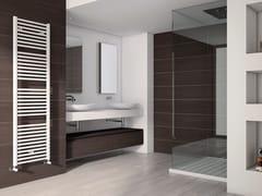 Scaldasalviette verticale in acciaio a parete ARES | Scaldasalviette -